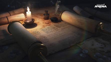 candle by polosatkin
