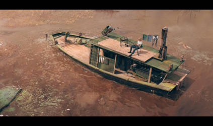 boat 1 by polosatkin