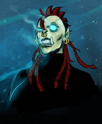 orc death knight by Silsol