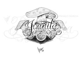 Juanita mushrooms -shadow- by dfmurcia