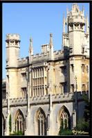 Cambridge Architecture 1 by Xeno834