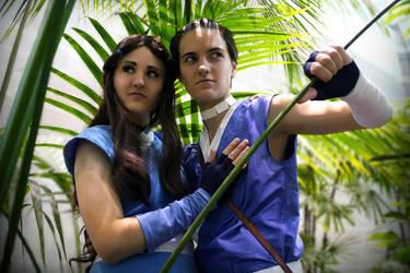 Sokka Katara Cosplay - Hope in the Avatar by Soul-Lux