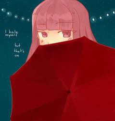 Hiding by felixuxu