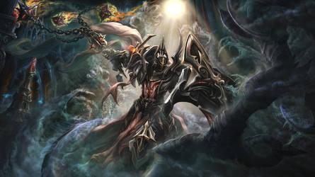 Crusader of LIFE, defying DEATH by IosifChezan
