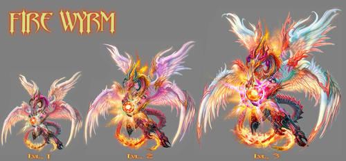FIRE WYRM -lvl 1 to 3 by IosifChezan