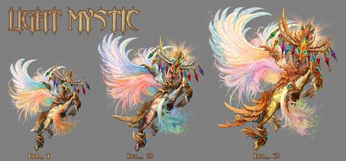 LIGHT MYSTIC -lvl 1 to 3 by IosifChezan