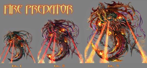 FIRE PREDATOR -lvl 1 to 3 by IosifChezan