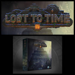 LOST TO TIME Board Game Logo by IosifChezan