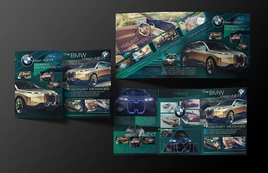 BMW Vision iNEXT Leaflet by IosifChezan