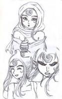 Kala faces TMNT by Lein744
