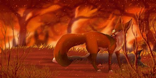 1. Red Witch by MattsyKun