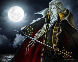 Alucard Castlevania by demarcs