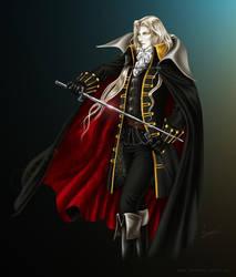 Alucard Castlevania 02 by demarcs