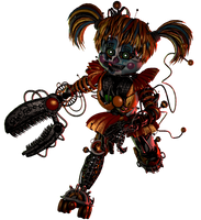 (SFM/FNAF/Collab Entry) Scrap baby by Fazband83