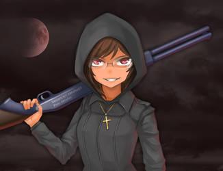 Vampire Hunter by cerulea83