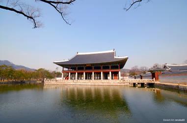 Gyeonghoeru Pavilion by Cerulea-blue