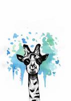 Giraffe. by DilettaStrangee