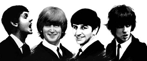 The Beatles Montage by JennBredemeier