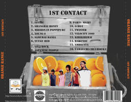 1st Contact CD Back Cover by sweetmorpheus