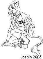 Gryphon Girl by sweetmorpheus
