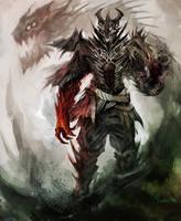 Demon Warlock by Maclq