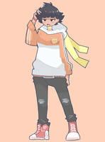 Hoodie Makoto by Oscar44