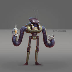 robot ant by Deviangread