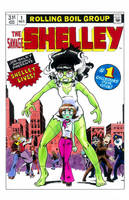 The Savage Shelley no.1, 1980 by Underburbs