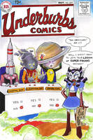 Underburbs Comics #247, 1958 by Underburbs