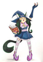 BCC 2017 - Catgirl Witch, part 1 by Underburbs