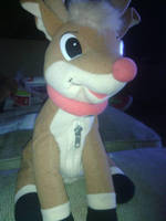 My Rudolph reindeer 1998 plush by spiritumiracle