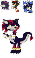Shadow x Zodick fan kid 1 For kyogia2864 by spiritumiracle