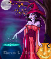 Halloween: The Witch by thereseldavis