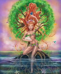 Earth Goddess by thereseldavis