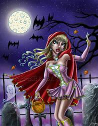 Halloween: Red Riding Hood by thereseldavis