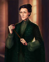 Minerva McGonagall by kit466