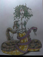 Medusa Disegno by mammuth89