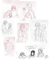 'Dark's Watch' sketchdump by Absolute-Sero
