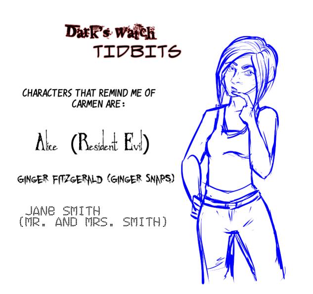 Dark Tidbits - 3 - Carmen by Absolute-Sero