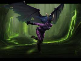The Legion Demon Hunter by TheMeszka