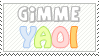 GimmeYaoi - Stamp by Tami-Stamps