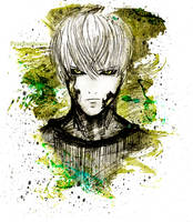 One Punch Man- Genos by Pearlonthesea
