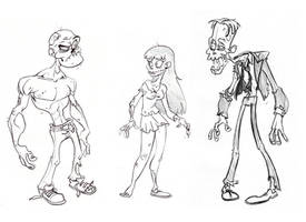 Zombies by Morpheus306