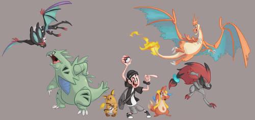 Pokemon Team Y by Morpheus306