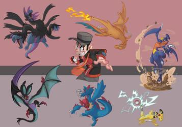 Poke Y Team 2014 by Morpheus306