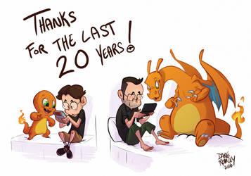 Happy Birthday Pokemon by Morpheus306