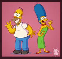 Simpsons my way by Morpheus306