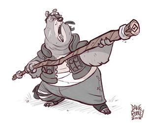 Animals of Konoha-Bear by Morpheus306