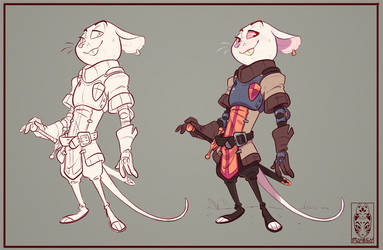 Mouse Knight by Morpheus306