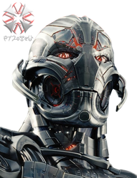 Ultron [PNG] by 972oTeV